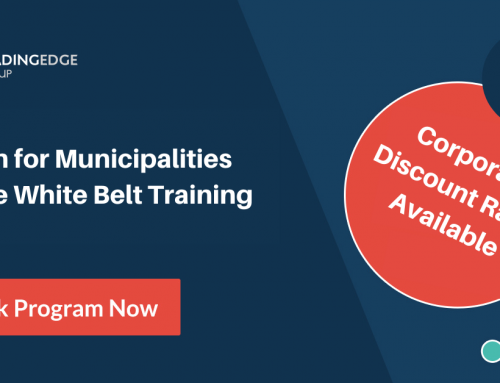 Announcement – New Online Training Program: Lean for Municipalities White Belt
